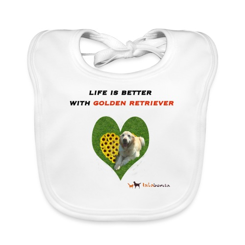 Life Is Better With Golden Retriever - Bavaglino
