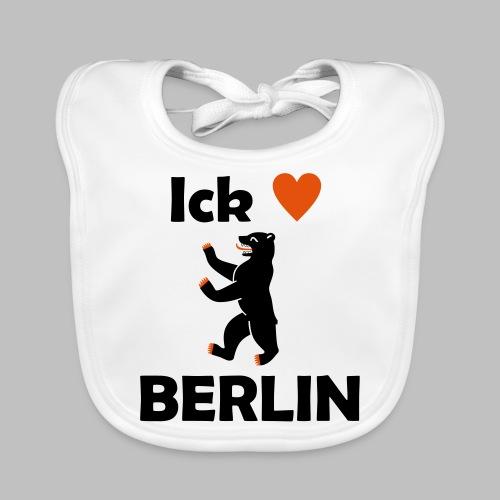 Ick liebe ❤ Berlin - Baby Bio-Lätzchen