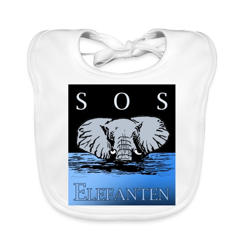 SOS Elefanten - Baby Bio-Lätzchen