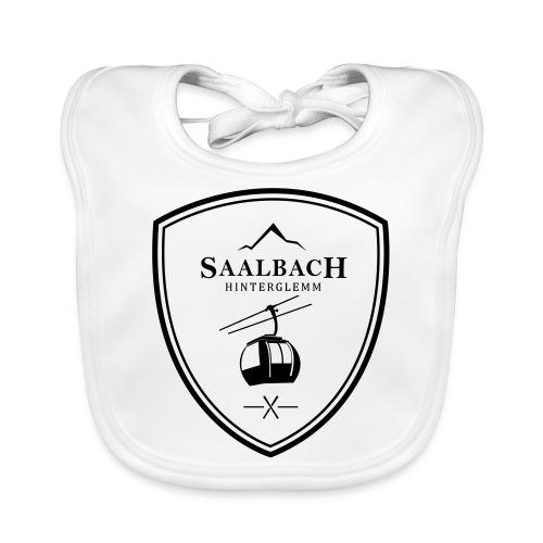 Skilift embleem Saalbach Hinterglemm - Bio-slabbetje voor baby's