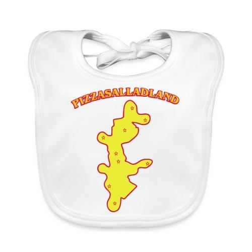 Pizzasalladland - Ekologisk babyhaklapp