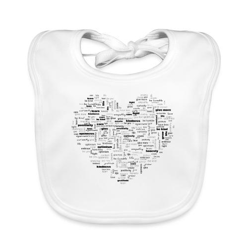 Heart Cluster - Organic Baby Bibs
