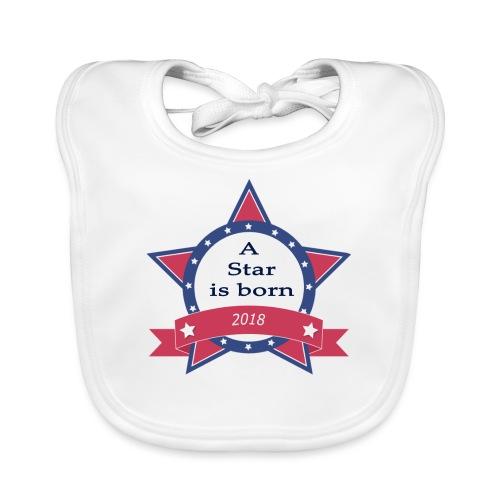 a star is born - Bavoir bio Bébé
