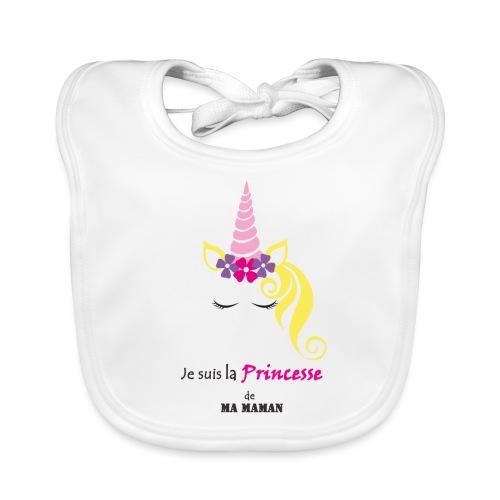 princesse de maman2 - Bavoir bio Bébé