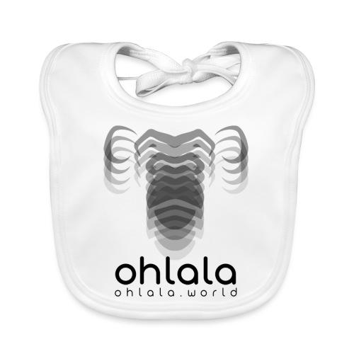 Ohlala Vibra BLACK - Bavoir bio Bébé