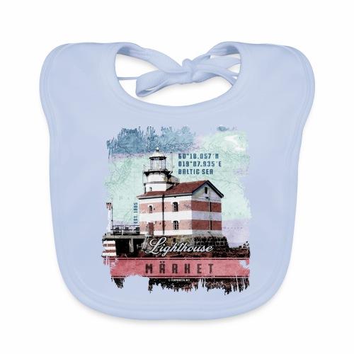 Märket majakkatuotteet, Finland Lighthouse, väri - Vauvan ruokalappu