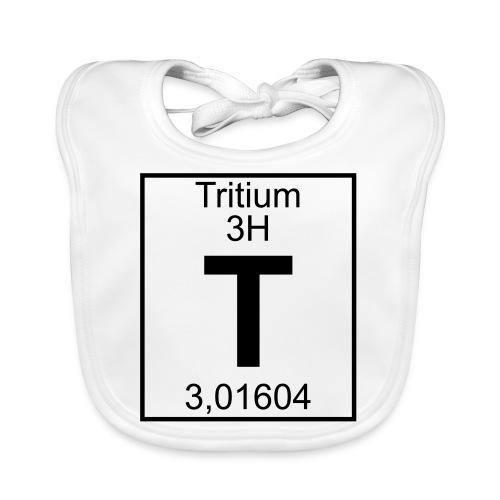 T (tritium) - Element 3H - pfll - Baby Organic Bib