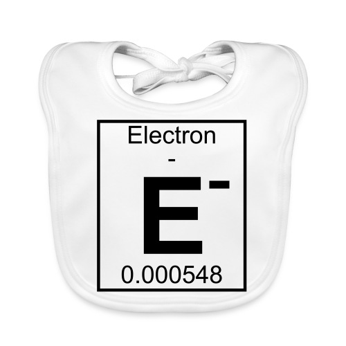 E (electron) - pfll - Baby Organic Bib