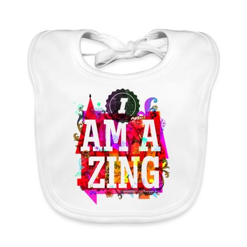 I am Amazing - Baby Organic Bib
