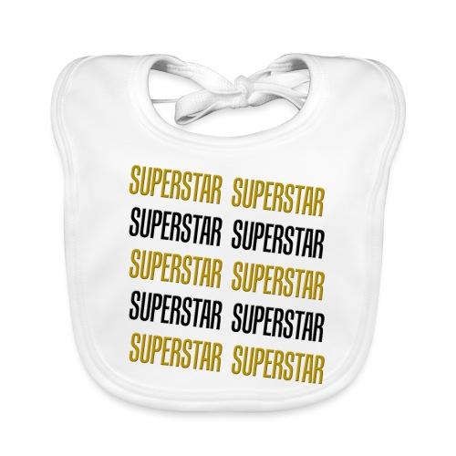 Superstar - Baby Bio-Lätzchen