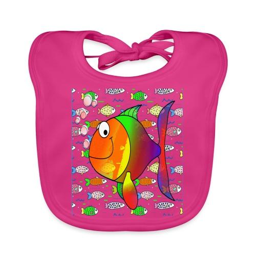 big fish - Bavoir bio Bébé