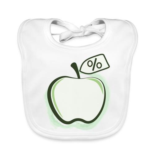 Sund på budget logo - Hagesmække af økologisk bomuld