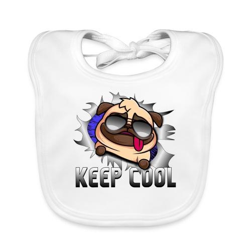 Keep Cool Hund Geschenk - Baby Bio-Lätzchen