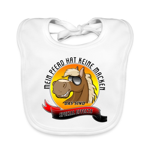 Mein Pferd hat keine Macken Special Effects - Baby Bio-Lätzchen
