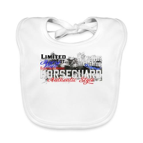 Limited Edition Horseguard Pferd Reiten - Baby Bio-Lätzchen