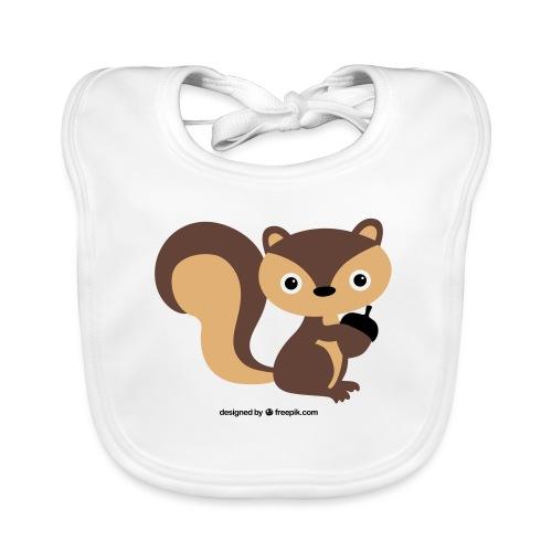 eichhörnchen - Baby Bio-Lätzchen