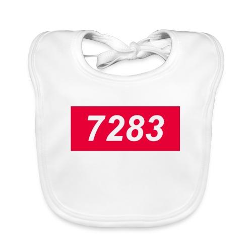 7283-Red - Baby Organic Bib