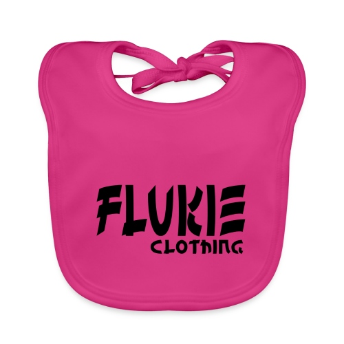 Flukie Clothing Japan Sharp Style - Baby Organic Bib