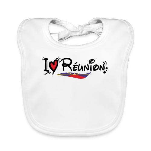 i love Réunion - MAHAVELI - Bavoir bio Bébé
