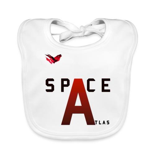 Space Atlas Baseball Long Sleeve Capital A - Baby økologisk hagesmæk