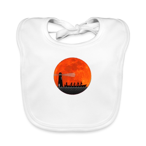 Rowing with Witches - Baby Organic Bib
