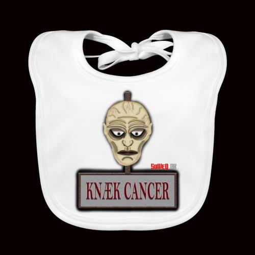 Knæk Cancer Kollektion ! - Hagesmække af økologisk bomuld