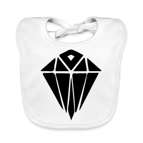 black diamond - Baby Organic Bib
