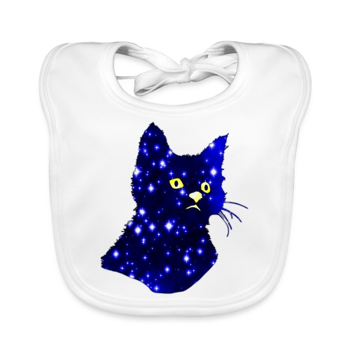 Galactic Cat - Bavoir bio Bébé