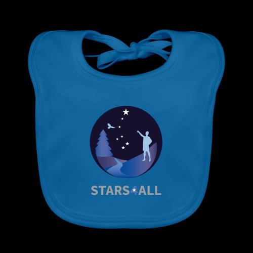 Stars4All - Babero de algodón orgánico para bebés
