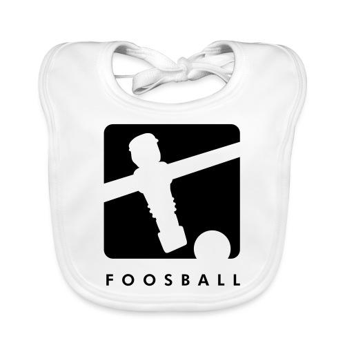 Foosball - Kickershirt - Baby Bio-Lätzchen