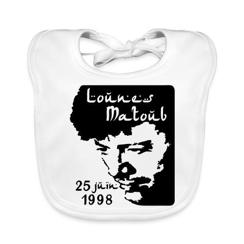 Motif hommage à Lounes Matoub - Bavoir bio Bébé
