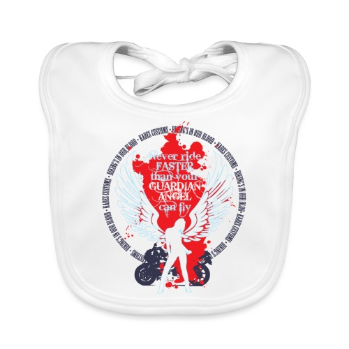 Kabes Guardian Angel T-Shirt - Baby Organic Bib