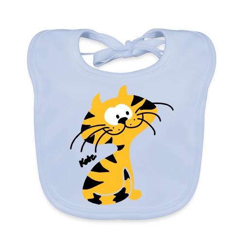 Miezekatze Cat (c) - Baby Bio-Lätzchen
