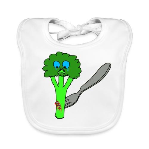 brokkoli Brokkoli Gabel - Baby Bio-Lätzchen