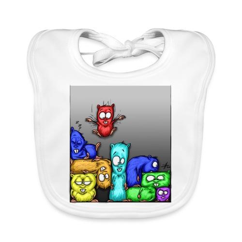 hamstris_farbe - Baby Bio-Lätzchen