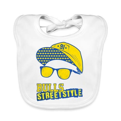 Bulls Streetstyle Yellow - Baby Bio-Lätzchen