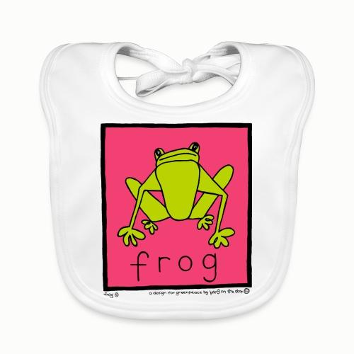 frog 90's Bang On The Door - Organic Baby Bibs