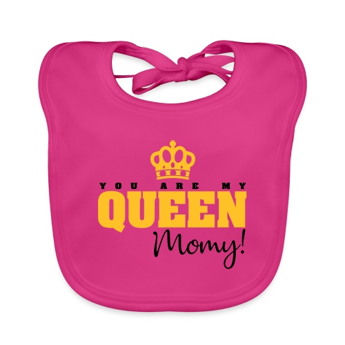 You Are My Queen Momy! - Babero ecológico bebé