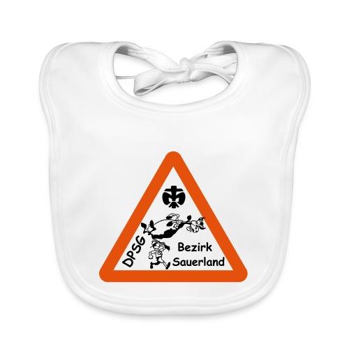Logo Bezirk Sauerland mit Rahmen - Baby Bio-Lätzchen