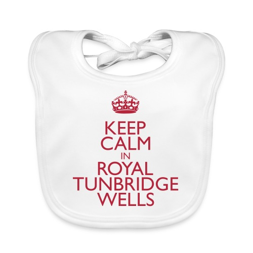 Keep Calm in Royal Tunbridge Wells - Organic Baby Bibs