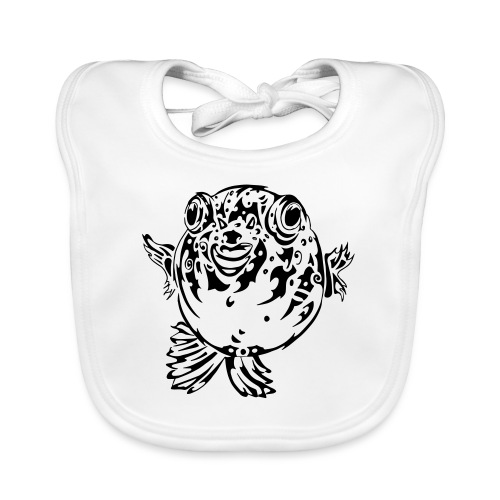 Puff the Blowfish - Organic Baby Bibs