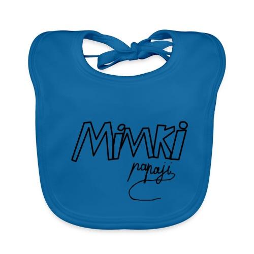 Mimki papaji #2 official logo - Baby Organic Bib