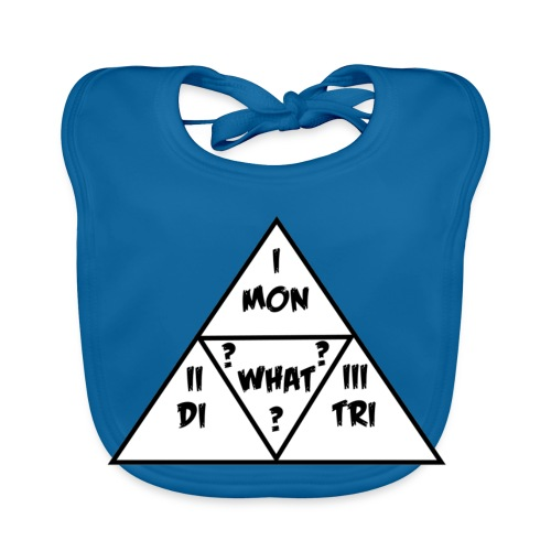 Mon_Di_Tri_What? Black Desert Tri Force - Baby Bio-Lätzchen