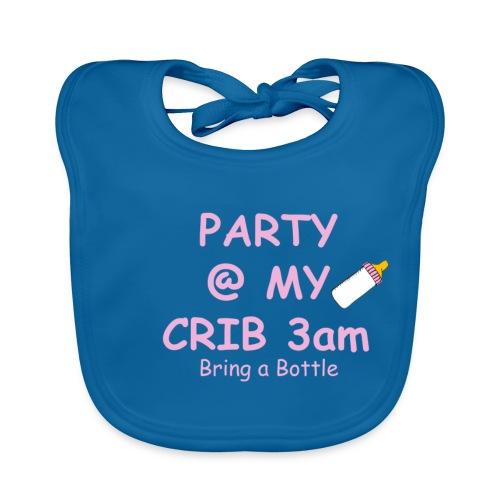 Baby Party @ crib vest - Baby Organic Bib