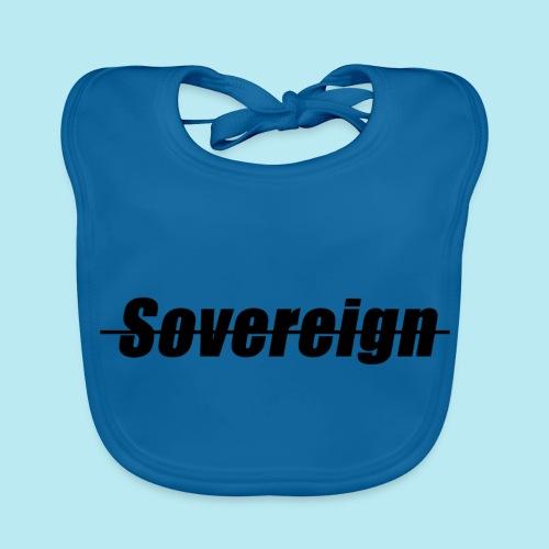 Sovereign Dash Black - Baby Organic Bib