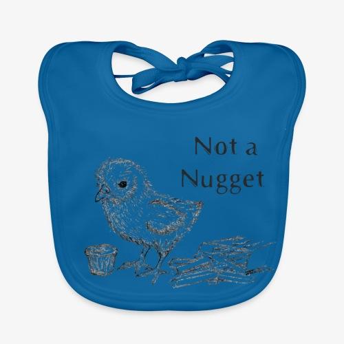 Not a Nugget! Go Vegan - Baby Organic Bib