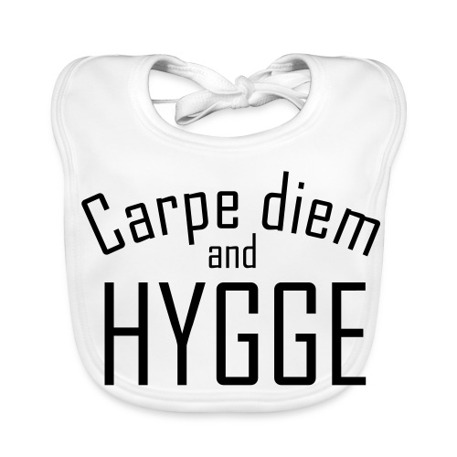 HYGGE Carpe diem - Baby Bio-Lätzchen