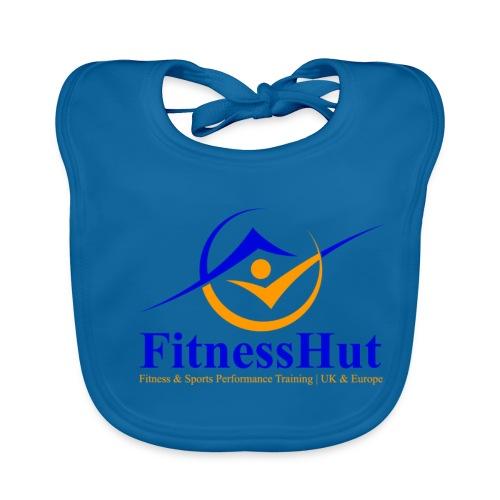 FitnessHutUK Logo Kit - Baby Organic Bib