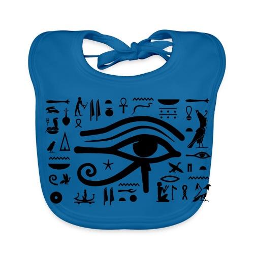 HORUS Hieroglyphen - Baby Bio-Lätzchen
