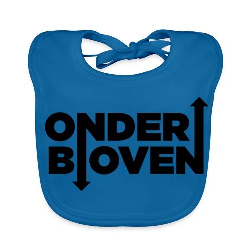 LOGO_ONDERBOVEN - Bio-slabbetje voor baby's